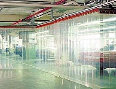 Холодильные завесы - организация склада.